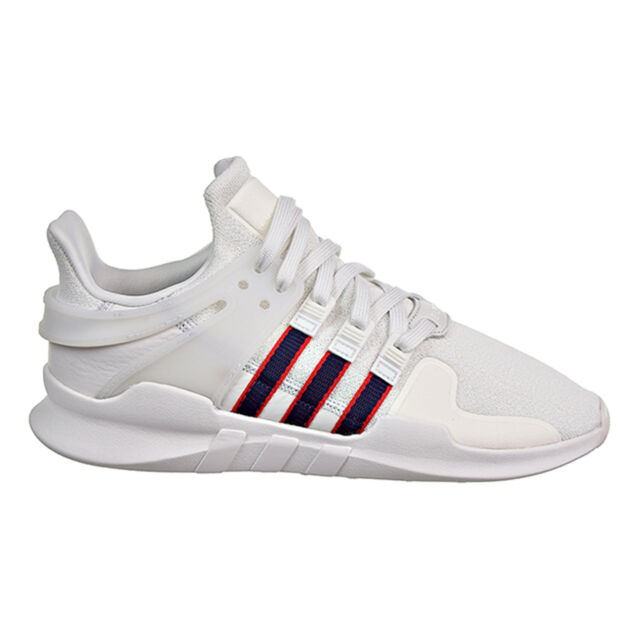 Adidas Equipment Support ADV Mens Sneakers Crystal White/Navy/Scarlet bb6778