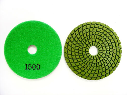 "4"" Supreme Wet Diamond Polishing Pad for Granite Marble Stone"