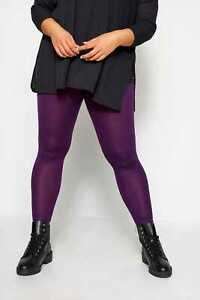 Yours-Clothing-Womens-Plus-Size-Colour-Block-Fashion-Leggings