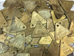 Price-per-Tag-Vintage-Ford-Northville-Plant-Auto-Antique-Tool-Check-Shiny