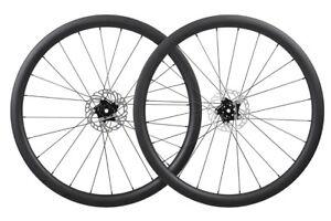 Carbon-Wheelset-Disc-brake-Clincher-Floating-Rotor-Road-Bike-Rim-Matt-700C-40mm