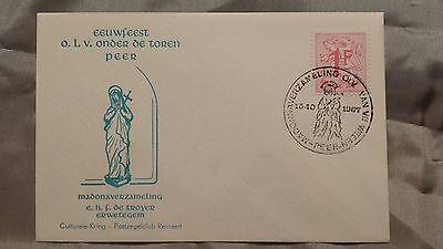 Europa E088 Ganzsache Eeuwfeest Onder De Toren Peer Madonaverzameling 1967 Briefmarken