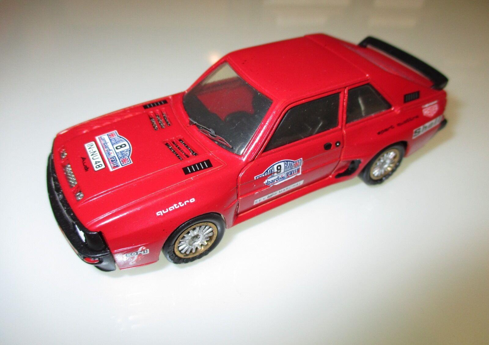 Audi Sport Quattro Rally BATH 1983, AMR Ste Andre-Marie RUF   Danhausen in 1 43