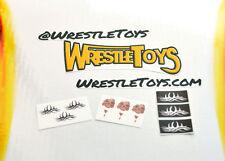 Goldberg TATTOO DECALS FOR FIGURE Bill Goldberg tattoos Custom Wrestling Fix Up