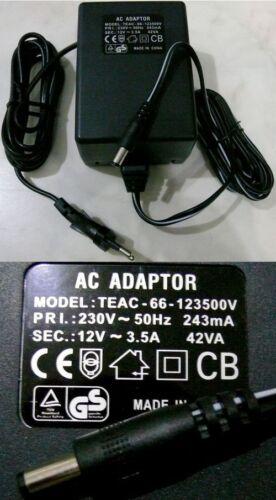 Transformator LED Treiber Strom Adapter 230V-12V 3.5A 42VA Netzteil Netzadapter