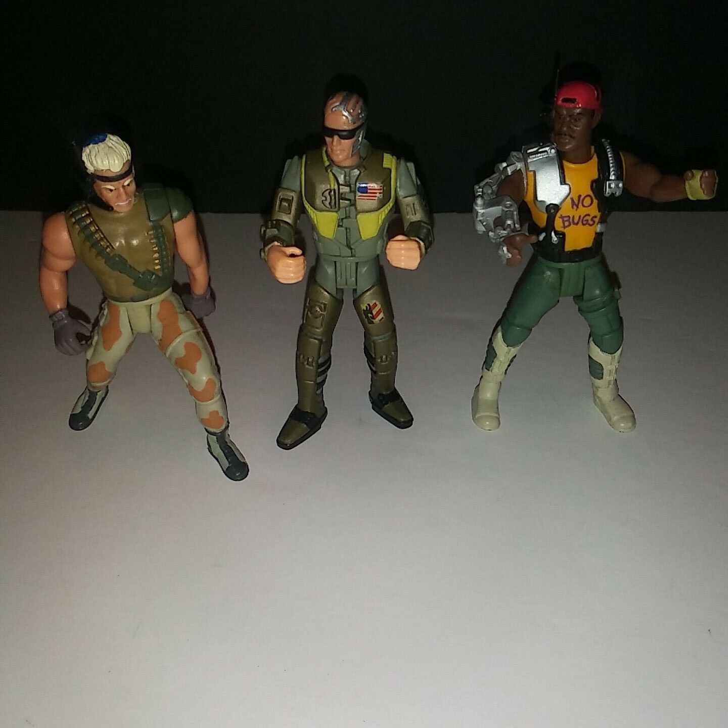 Lot Of 3 Vintage Aliens 1992 Fox Kenner Aliens Vintage Action Figures Toys 1ecac9
