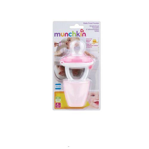 4 m Munchkin Safe Facile Sur Le Go Baby Food Silicone pureetravel Feeder avec capuchon