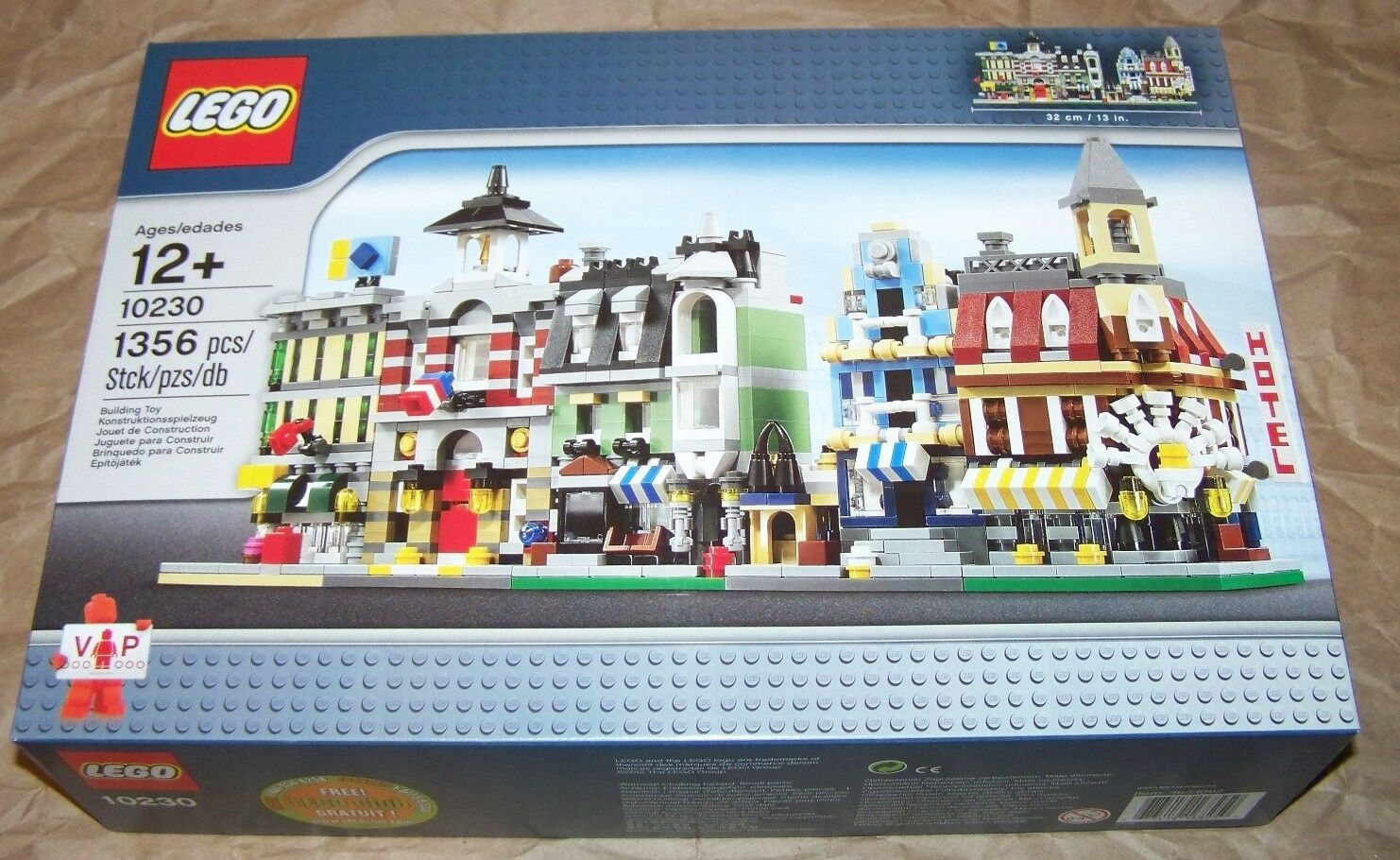 marca LEGO Mini Modulars Modulars Modulars 10230 NIB exclusive retirosso set 1356 pieces  produttori fornitura diretta