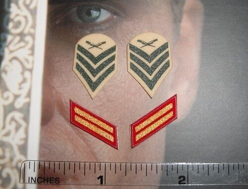 DiD 1//6 Scale USMC Ceremonial Honor Guard Tony Insignia Patches A80087