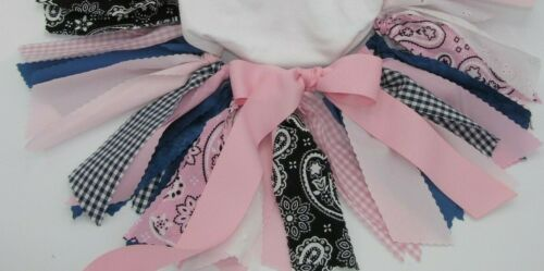 """/""""One/"""" /""""Wild One/"""" First 1st Birthday Outfit Tutu Light Pink Cowgirl Outfit"""
