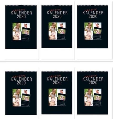 FREIHAUS !! Fotokalender Bastelkalender 2020 in DIN A4 für Bilder bis 13x18 cm