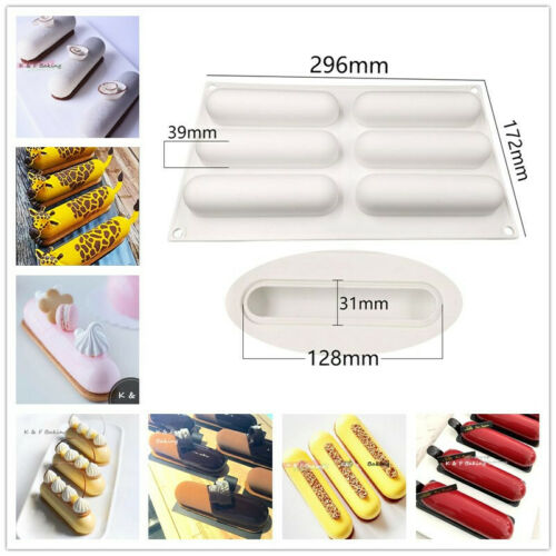 DIY Pastry Dessert Silicone Mold Mousse Cake Baking Mold Chocolate Pudding Mold