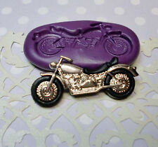 Silicone Mold Motorbike Mould (35mm) Cupcake Topper Dollhouse Clay Jewelry Icing