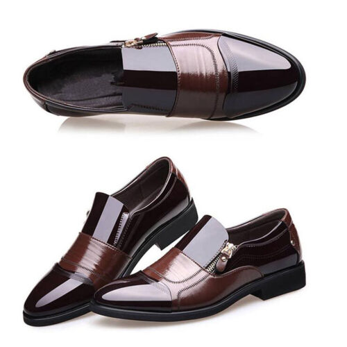 Fashion Men/'s Formal Leather Shoes Business Formal Casual Loafers Office Shoes