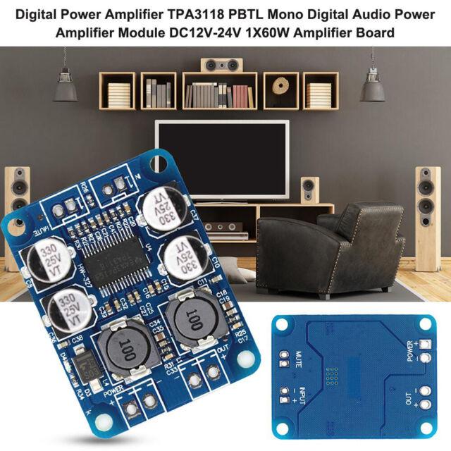 TPA3110 Digital Audio PBTL Power Amplification Amplifier Board TPA3118 Module