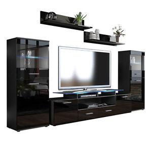 Mobile soggiorno porta tv F22, in 13 colori con luci led rgb, porta ...