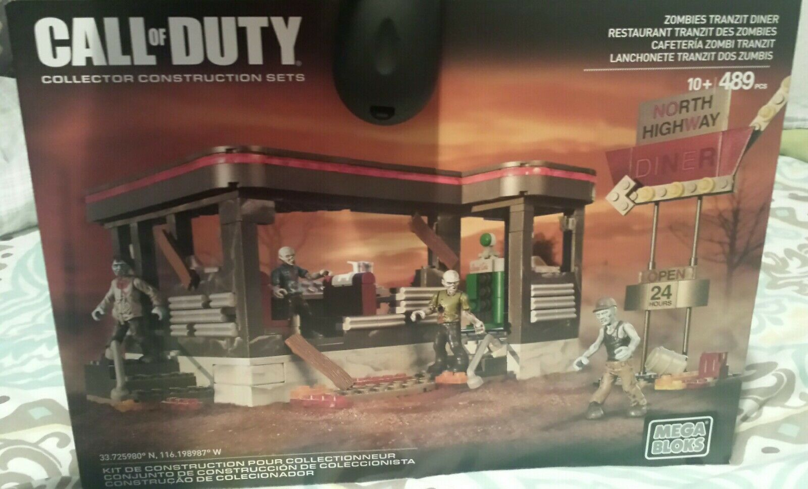 Call of Duty Zombies Tranzit Diner Set CNG84 Mega Bloks Collector Series