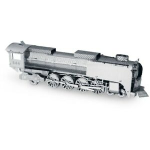 Steam-Locomotive-3D-Metal-Kit-Silver-Edition-Metal-earth-1033