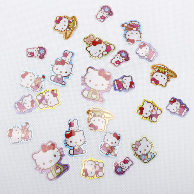 100 stickers Party Bags Hello Kitty, Cars, Ben 10, Mickey, Princess, Spiderman