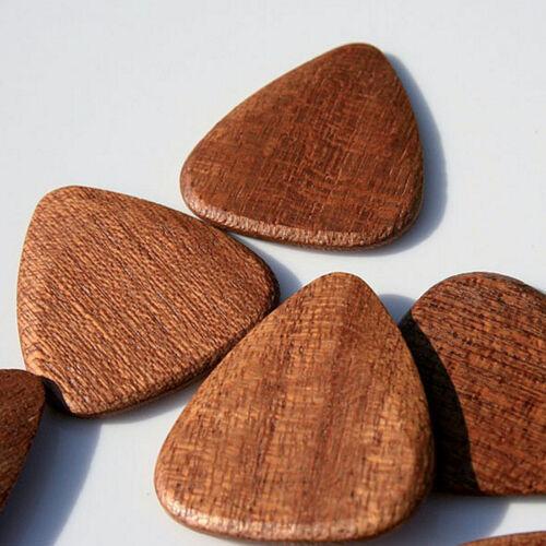 Picks African Sapele Plektrum Timber Tones Holzplektren Plecs