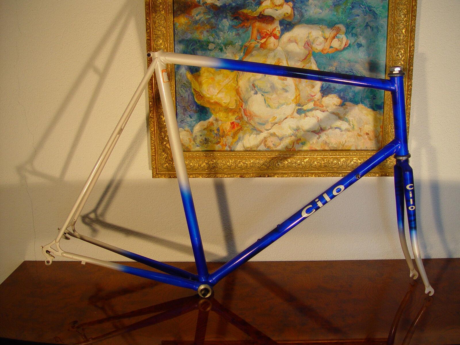 Classic CILO SWISS road bike frameset NOS 61cm