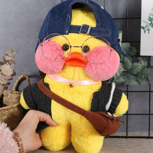 "12/"" Lalafanfan Cafe Mimi Duck Costume Plush Toy Stuffed Doll Xmas Kids Gift"
