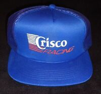Vintage Crisco Racing Buddy Baker Team Nascar Trucker Hat Baseball Cap Brand