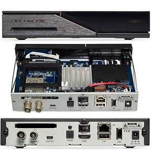 Dreambox DM525 HD E2 Linux Hybrid PVR HDTV LAN DVB-C/T2 + Darkgold LNB 0.1db