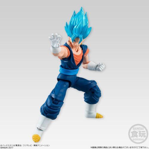 "Bandai 掌動 SHODO 3.75/"" DragonBall Z Vol5 SSGSS Vegito Vegito Action Figure"