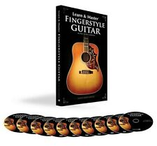 Learn and Master Fingerstyle Guitar 10 DISK - DVD NEW 000111933
