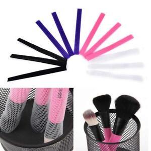 20Pcs Makeup Cosmetic Beauty Brush Pen Guards Sheath Mesh Net Protector Cover!