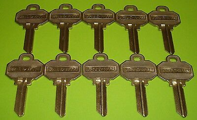 100  Keys Total 100 Brand New BALDWIN 5 PIN KEY BLANKS Model Number BAL8335152