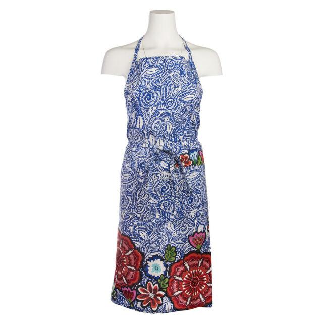 Talavera Cotton Kitchen Bib Apron By Tag Pockets Cute Vintage Ladies Women Chef
