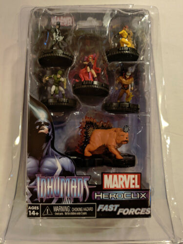 MARVEL Comics HeroClix Inhumans Fast Forces NEWSEALED 6 Figure Set WizKids