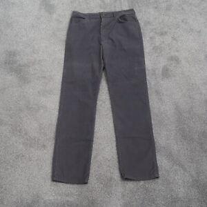 Vintage-Lee-Riders-Corduroy-Pants-34x32-Straight-Leg-Made-In-USA-Mens-Gray