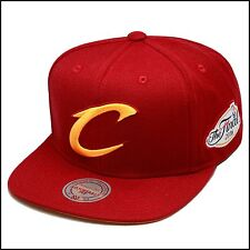 Mitchell & Ness Cleveland Cavaliers Snapback Hat All Maroon/Yellow/2016 Finals