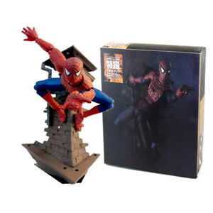 Sci-Fi-Revoltech-Spider-Man-Serie-Variable-PVC-Action-Figur-Modell-Spielzeug