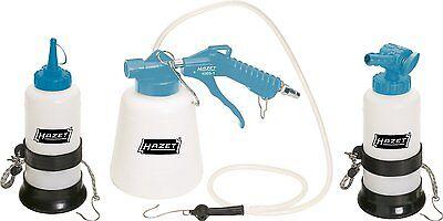 Hazet 49691/3 Bremsenentlüftungsgerät Druckluft Entlüften Bremsen Pneumatischer#