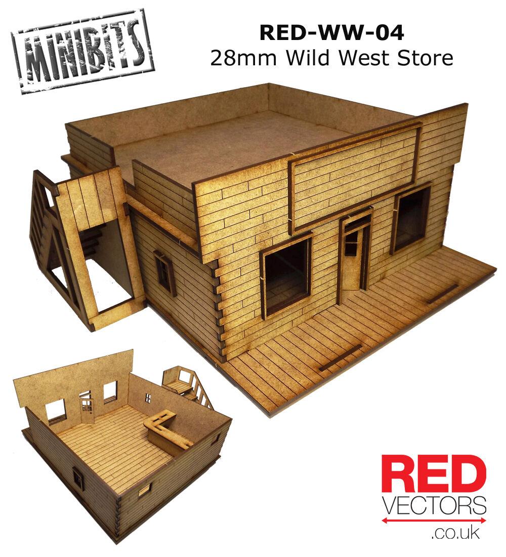 RED-WW-04 - 28mm Wargames - Wild West Store