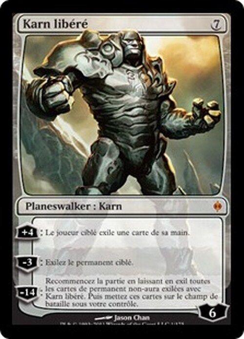 Karn Libéré VO - English Karn Liberated - Magic mtg -