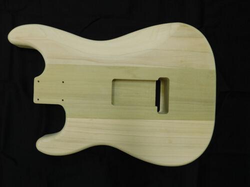 Poplar S-Style Guitar Body