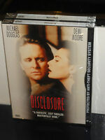 Disclosure (dvd) Michael Douglas, Demi Moore, Donald Sutherland, Barry Levinson,