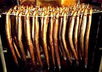 1 Aal frisch geräuchert . Räucherfisch aus dem Norden