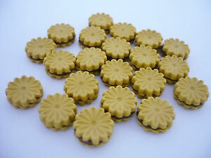 50 Loose Miniatures Biscuits Dollhouse Miniatures Food Bakery Deco