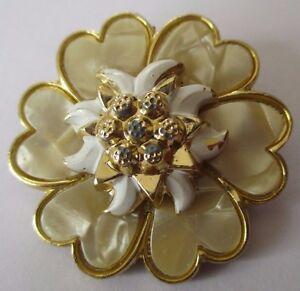 serre-foulard-passe-foulard-bijou-vintage-couleur-or-fleur-nacre-relief-584