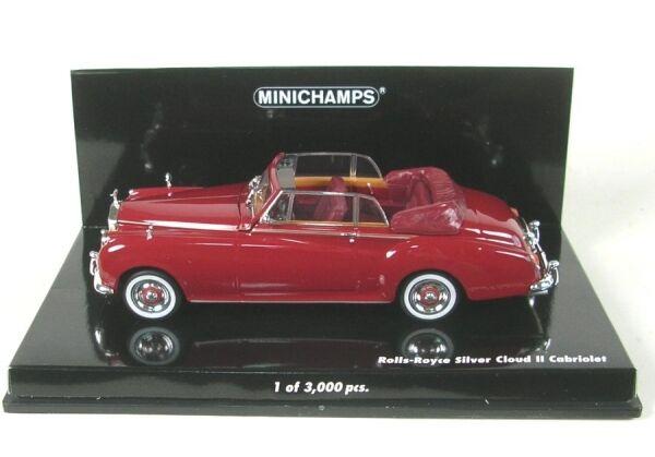 Rolls-Royce plata Cloud II cabriolet (rojo) 1960 1960 1960 375389