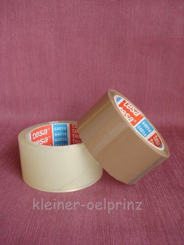Tesa 64014 ADHESIVA EMBALAR banda tesapack paquete cinta transparente o marrón