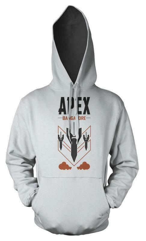 Apex Bangalore Rolling Thunder Missiles Gaming Legend Adult Hoodie