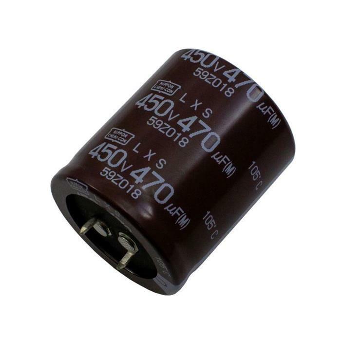 Snap-In Elko Kondensator Radial 470µF 450V 105°C ELXS451VSN471MA40S 35x40mm 470u