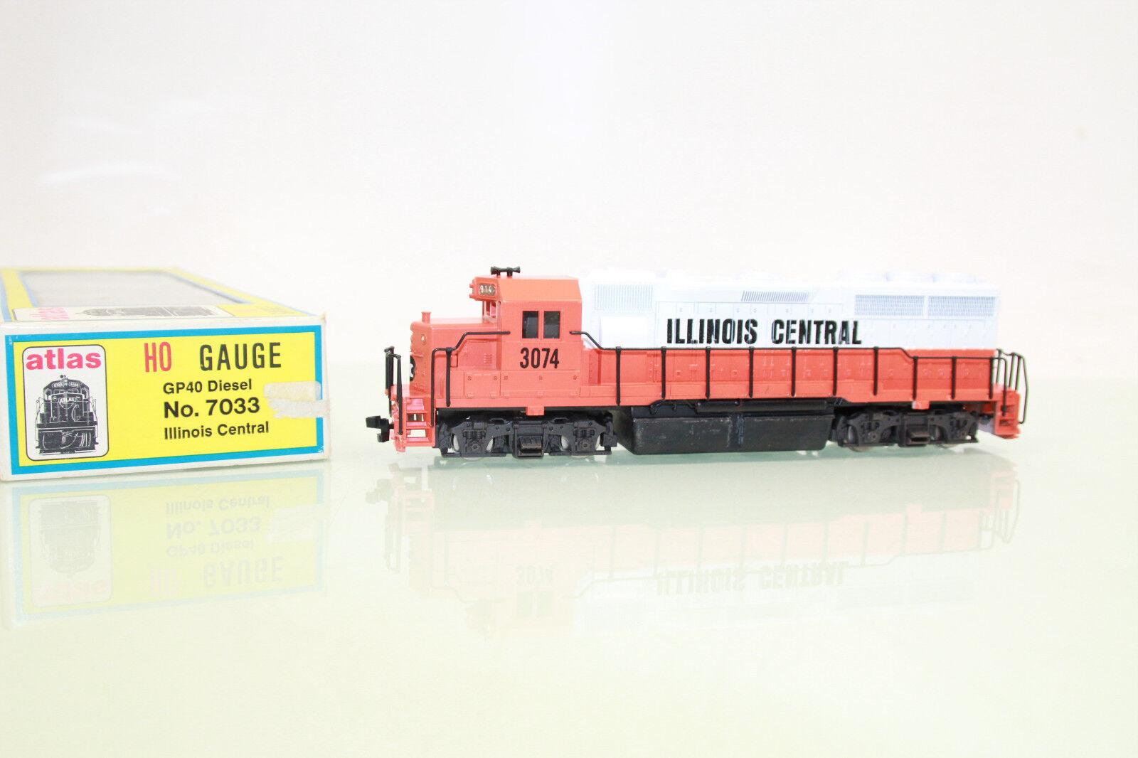 de moda Atlas pista h0 7033 us diesellok gp40 3074 illinois central central central en embalaje original (nl1932)  mejor opcion